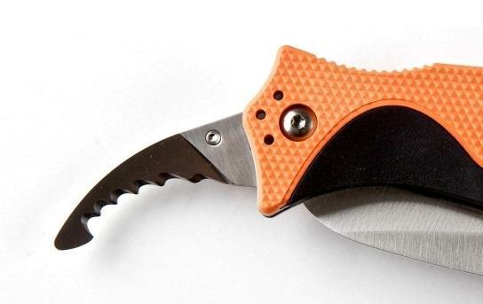 Второе лезвие ножа для выживания Tactical Double Duty Responder