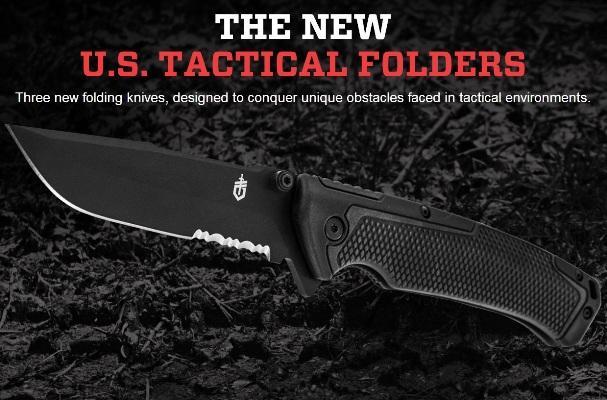 Складные тактические ножи Gerber US Tactical Folder