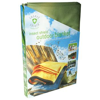 Insect Shield Outdoor Blanket в упаковке