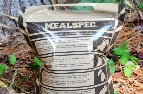 Беспламенная сумка быстрого разогрева пищи MealSpec Gen 2