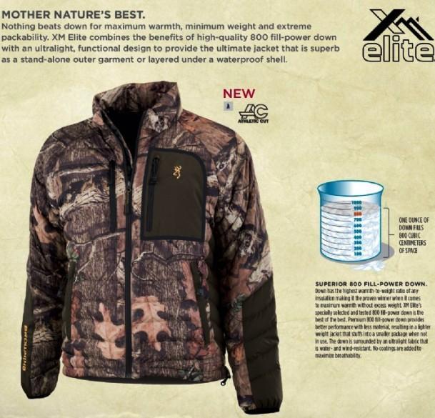 Камуфляжная одежда для охоты Browning  XM Elite