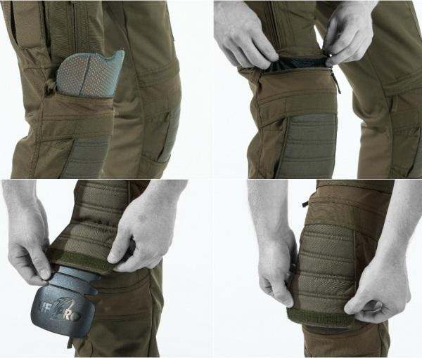 Защитные наколенники knee protection system в экипировке UF PRO