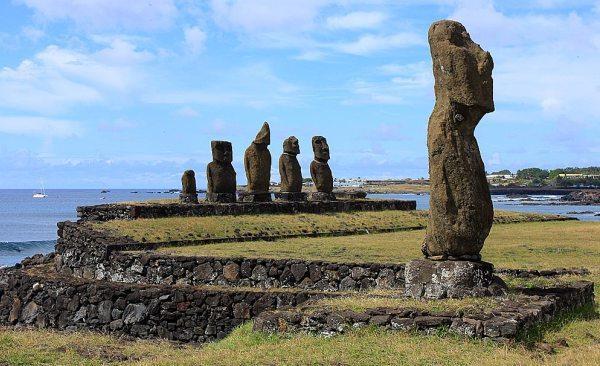 Исполинские статуи острова Пасхи
