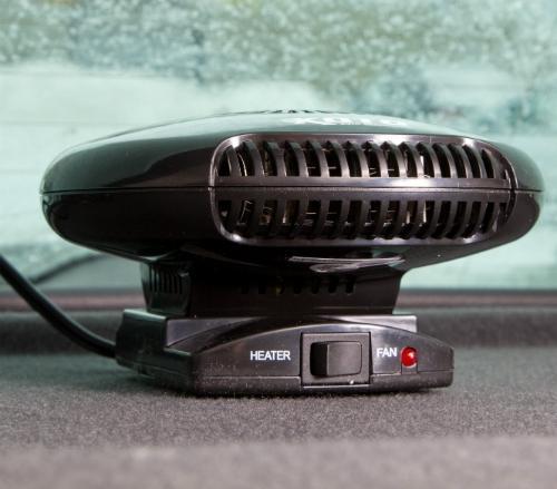 Что представляет собой автомобильный вентилятор с функцией подогрева