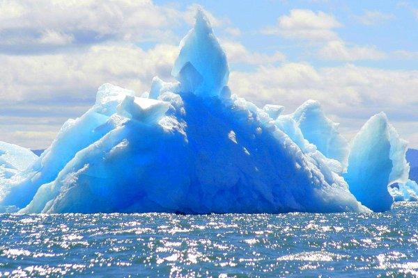 Ледяная гора в Laguna San Rafael