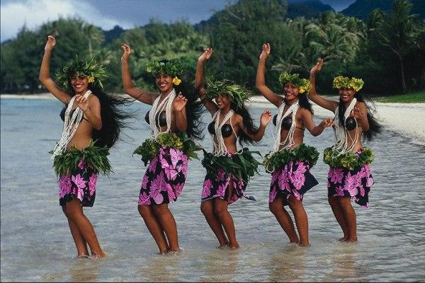 Гавайские девушки