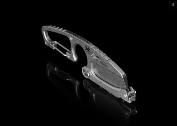 Нож выживания с карабином и поворотным кожухом DPX HIT Cutter