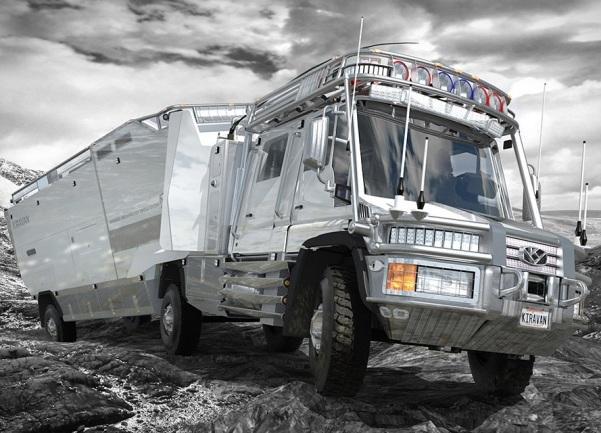 Экспедиционный автопоезд и автодом KiraVan