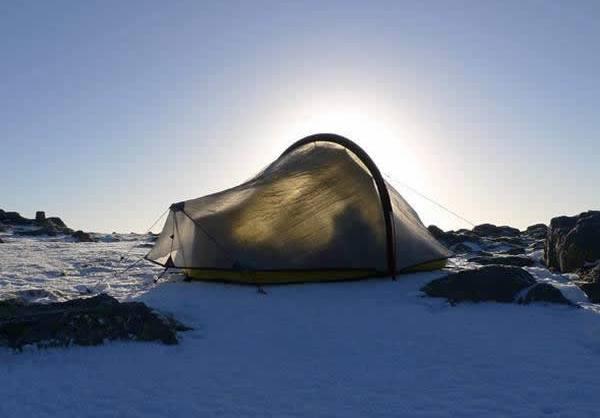 Самая легкая в мире палатка Laser Ultra 1 Tent занесена в Книгу рекордов Гиннеса