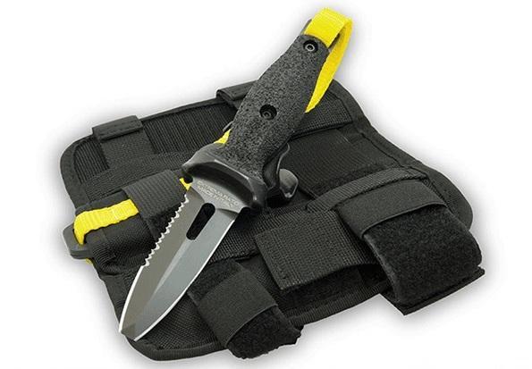 Нож выживания Extrema Ratio DiCoK предназначен для подводных пловцов