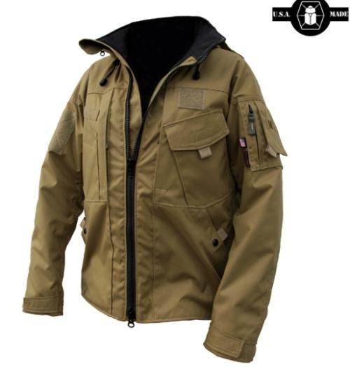 Защитная походная куртка Kitanica Jacket Mark VI с капюшоном