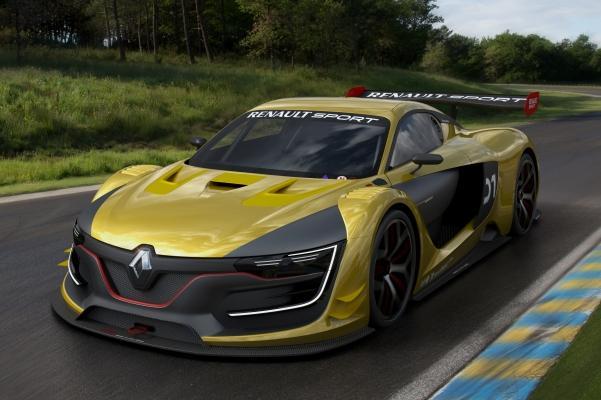 Гоночный автомобиль Renault Sport RS 01 для экстремальной скорости
