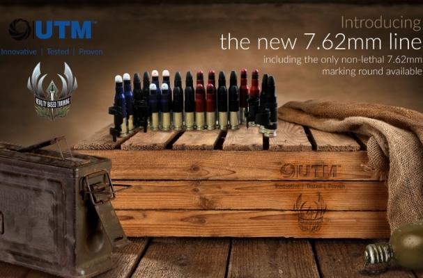 Новая серия учебных боеприпасов UTM RBT калибра 7,62