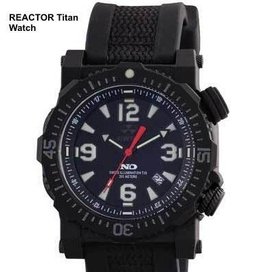 Наручные водонепроницаемые часы для выживания Reactor Titan