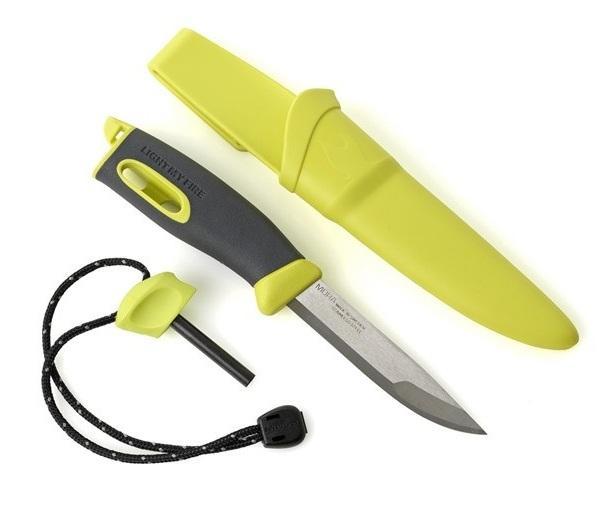 Комплектность ножы для выживания Swedish FireKnife с FireStarter