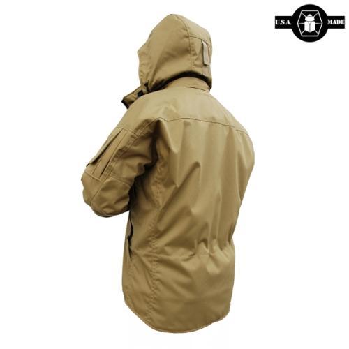 Тыльная сторона куртки Kitanica Jacket Mk VI с капюшоном