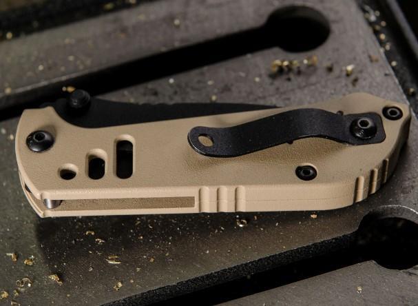 Нож Mil SPIE 3.5 Tanto Point с ложенном виде