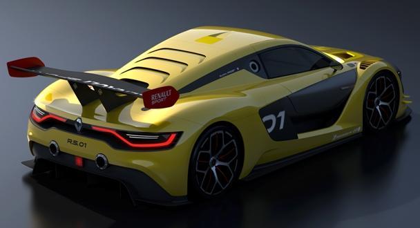 Старт Renault Sport RS 01 образца 2015 года