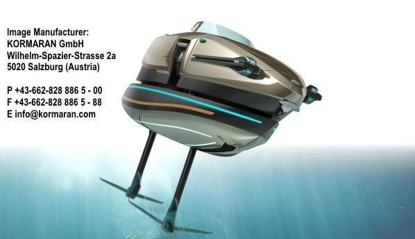 Kormaran с развернутыми подводными крыльями