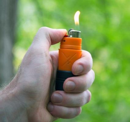 Водонепроницаемая зажигалка для выживания FireSLEEVE