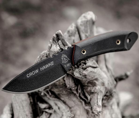 Резервный нашейный нож Crow Hawke для скрытого ношения