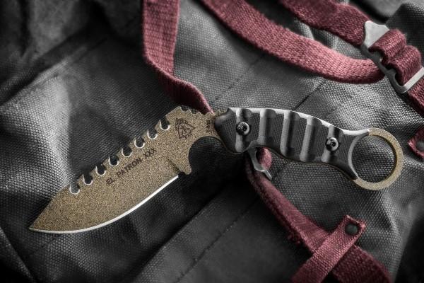 Боевой нож-керамбит Tops Knives El Patron XXX