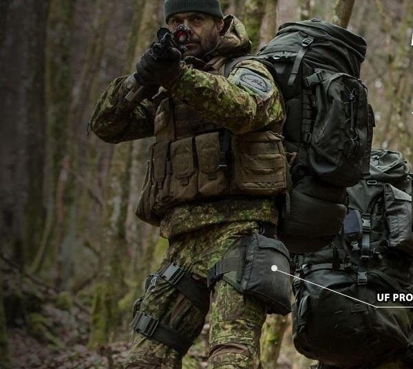 Военный камуфляжный костюм для охоты, рыбалки и походов UF PRO SmallPac