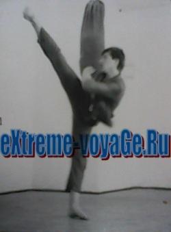 У-шу, личный архив, 1988 год, подпольный спортзал.