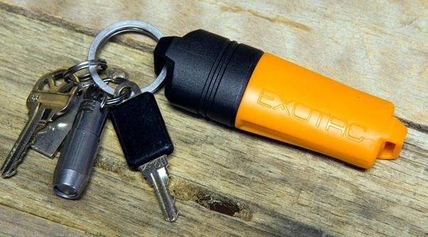 FireSLEEVE на связке ключей