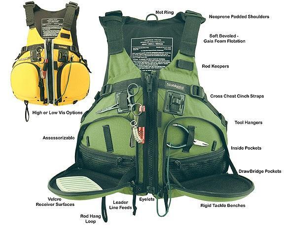 Рыбацкий жилет Fisherman Vest