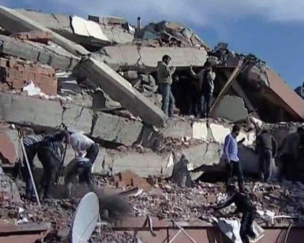 Правильное положение тела позволит выжить в землетрясении
