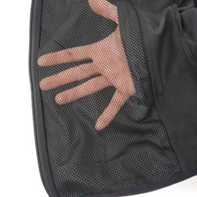Обеспечение воздухообмена в куртке Софт-Шел