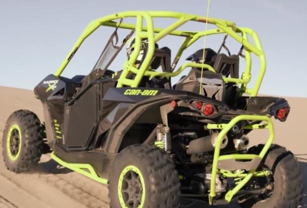 Скоростной штурмовой турбо квадроцикл Maverick X DS Turbo