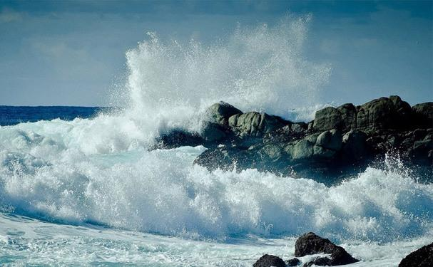 Опасные буруны на берегу