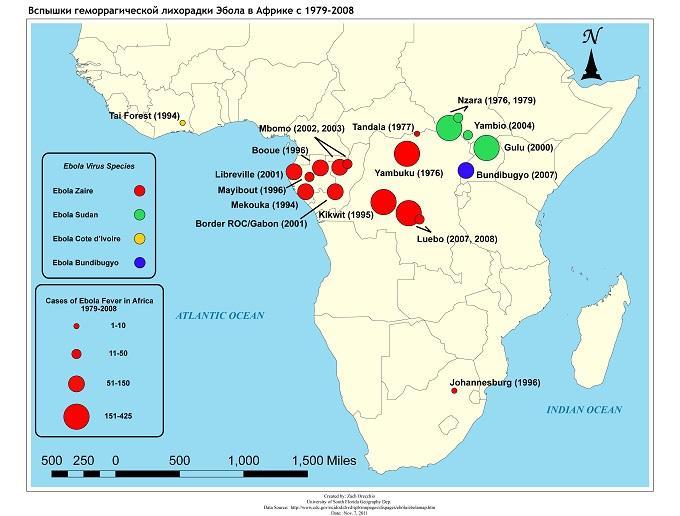 Смертельная лихорадка Эбола: как выжить «по-американски»