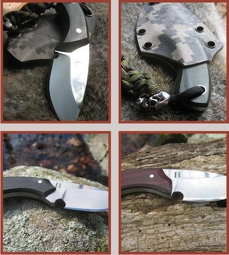 Bush Kill Blades представила нож для охоты the Necker