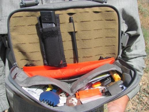 Первый отдел в сумке Heavy Recon Kit Bag