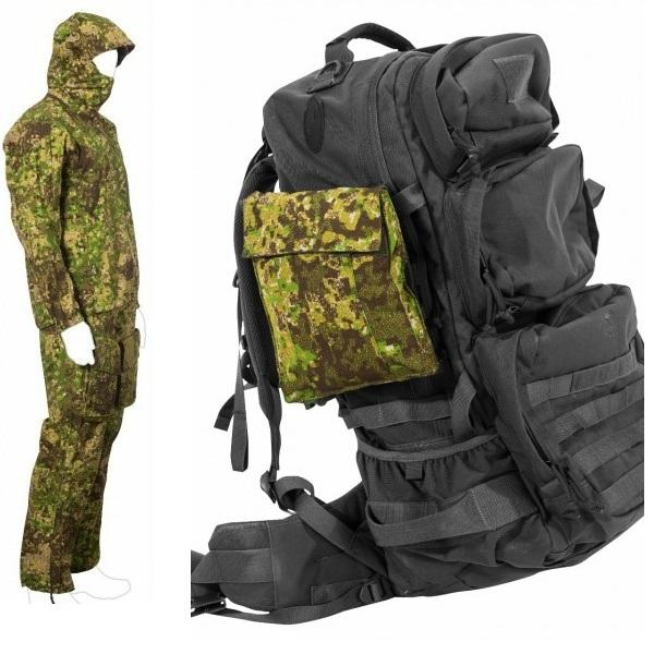 UF PRO Monsoon SmallPac GreenZone Rain Suit