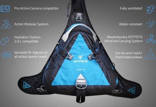 Спортивный рюкзак UltraPack 7+3