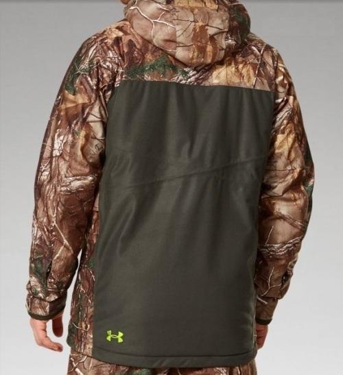 Тыльная сторона куртки Gunpowder UA Scent Control