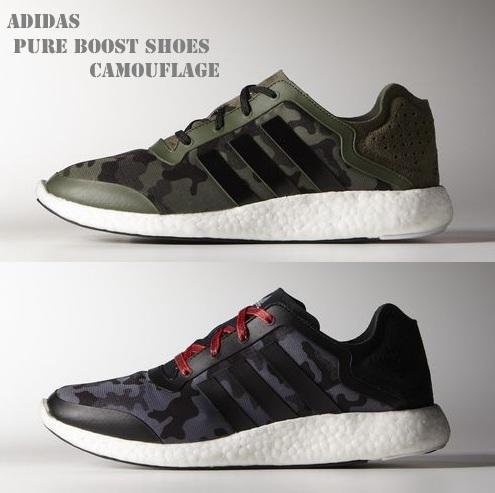 Камуфляжные кроссовки Adidas Pure Boost ускорят шаг