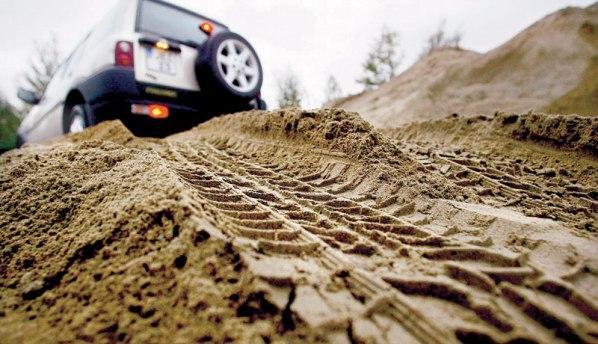 Как по следу определить направление движения автомобиля