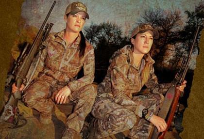 Женские охотничьи костюмы для «Девушек с Оружием» GWG