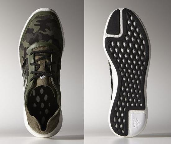 Adidas Pure Boost Shoes Camouflage