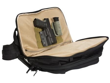 Оружейный карман быстрого доступа в EDC Commuter Pack