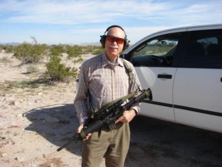 Dean Weingarten with ESS Eyeshields and AR