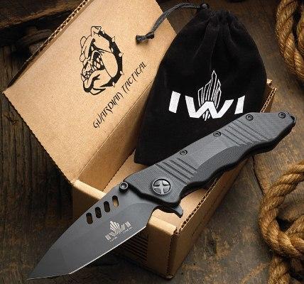Складной тактический боевой нож IWI Tavor TCK
