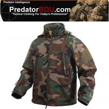 Тактическая флисовая Softshell куртка Special Ops