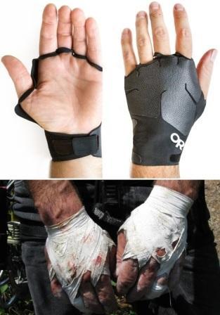 "Splitter-Gloves против ""ленточных перчаток"""