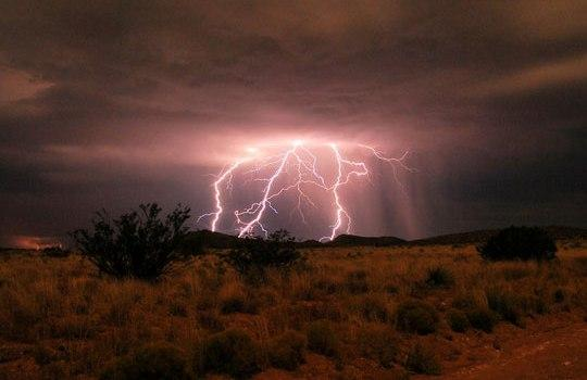 Защита от удара молнии в походе